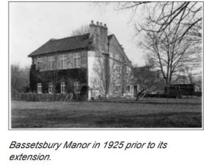 manor prior to 1925